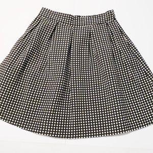 Freeway polka dot skirt